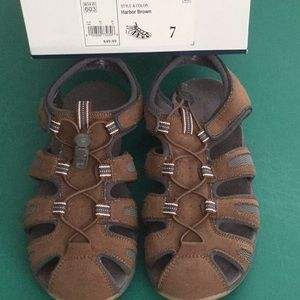 Croft & Barrow Harbor Brown Sandals